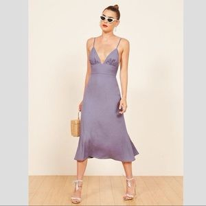Reformation Talita Dress in Orchid